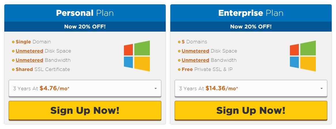 Pricing Of The Best ASP.NET Hosting Comparison - ASPHostPortal VS HostGator